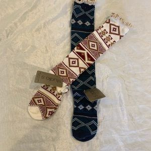✨NWT✨ Knee High Fair Isle Sock Bundle